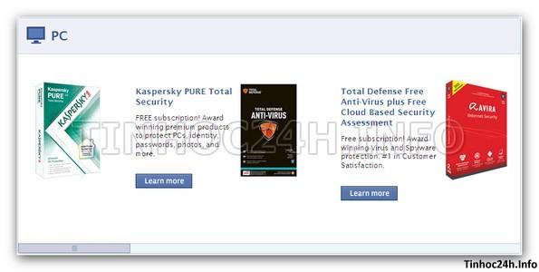step 1 Kaspersky PURE 2.0 Total Security bản quyền 6 tháng miễn phí