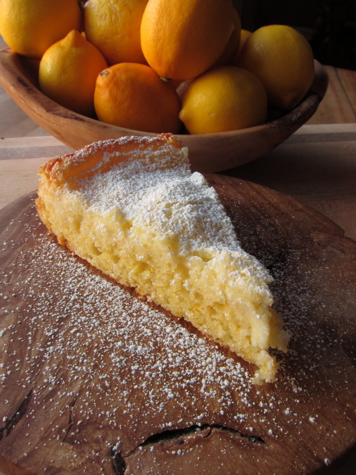 Arctic Garden Studio: Gooey Meyer Lemon Butter Cake