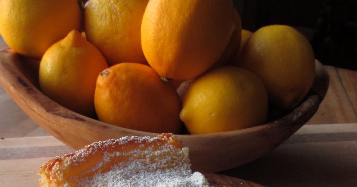 Arctic Garden Studio: Gooey Meyer Lemon Butter Cake