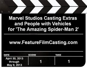 The Amazing Spider-Man 2 Casting Call