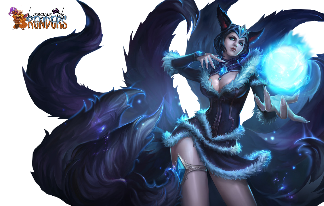 Render Ahri Midnight Chinese