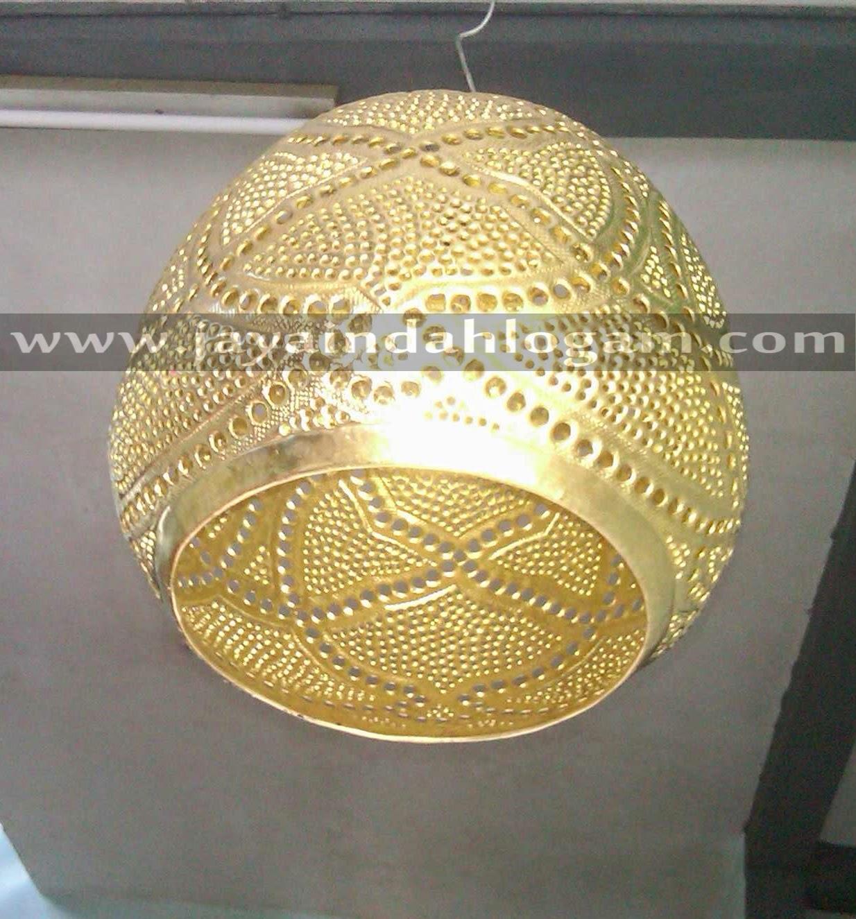 lampu pusat kerajinan tembaga dan kuningan jaya indah logamc