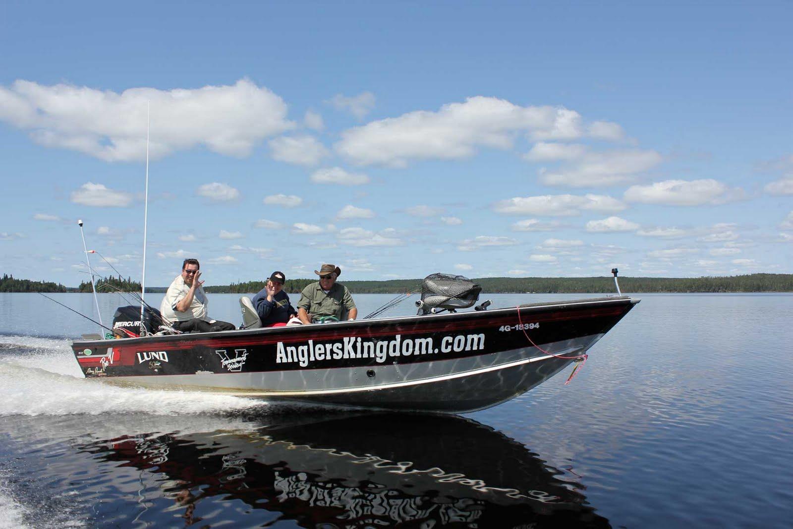 angler's kingdom boat