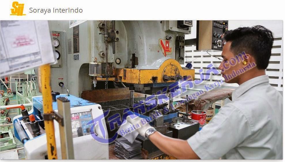 Lowongan Kerja SECURITY atau Satpam Keamanan di PT. Soraya Interindo Kawasan Industri Manis Jl. Manis V NO. 20 Tangerang, Indonesia