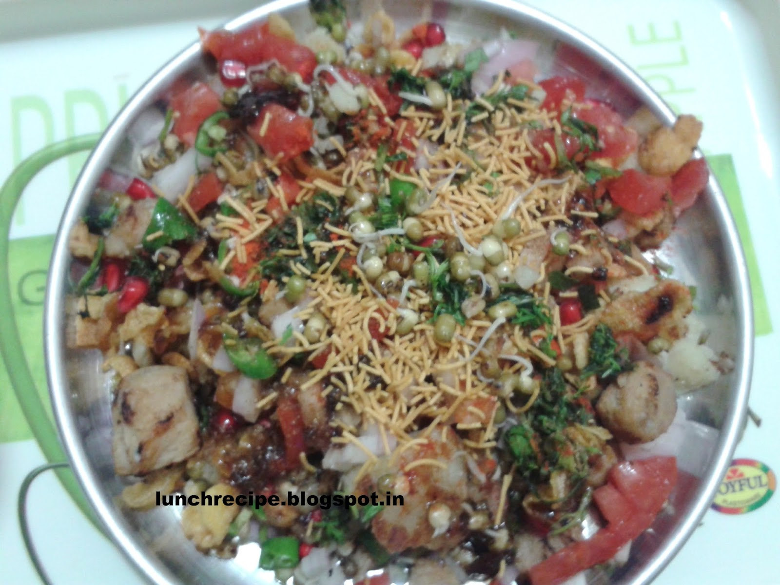 Spicy Soya Chaat