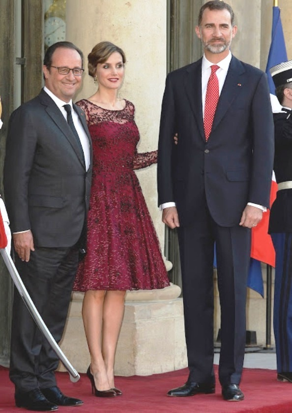 King Felipe And Queen Letizia's Visit To France, State Dinner