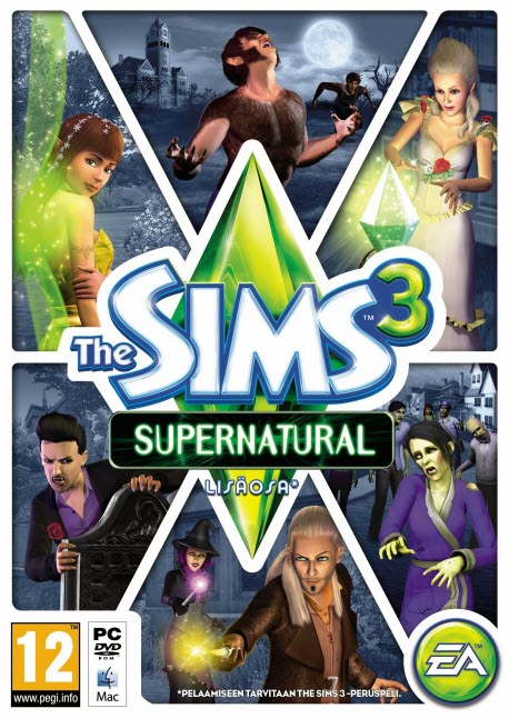 Cover The Sims 3 Supernatural Game