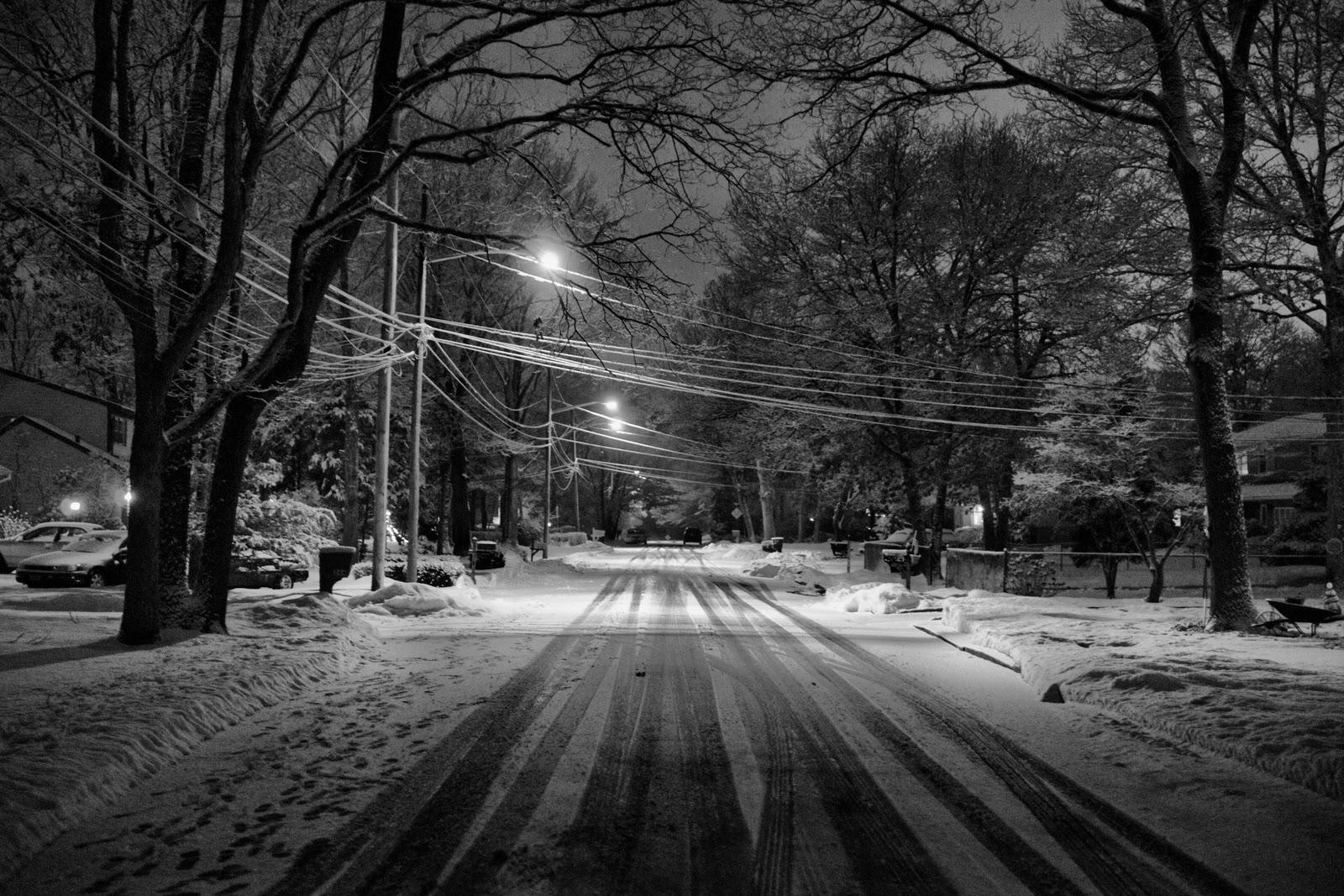 Winter at Night