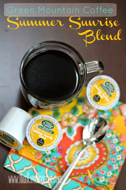 Green Mountain Summer Sunrise Blend k-cups