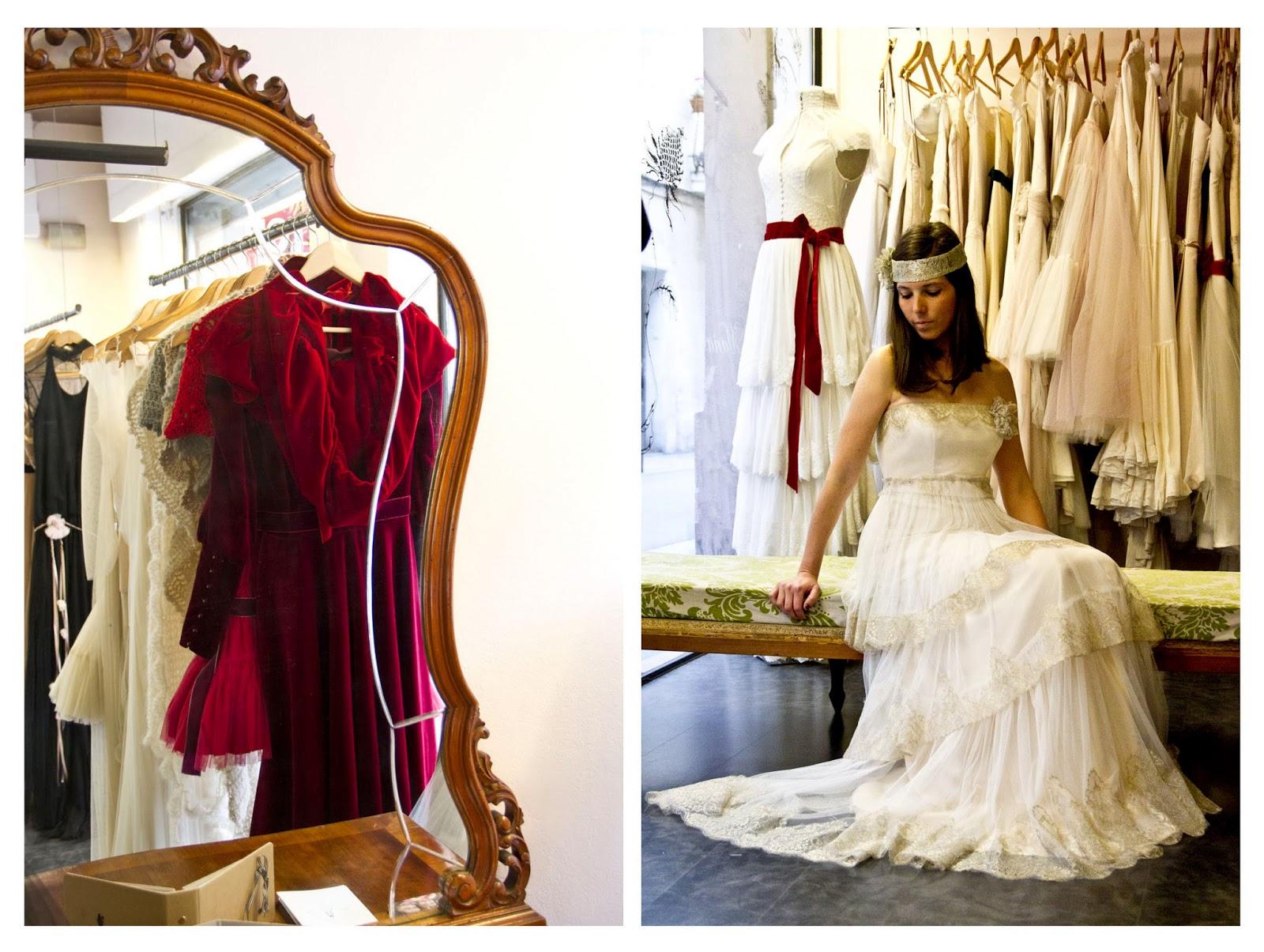 Tienda vestidos novia gracia barcelona