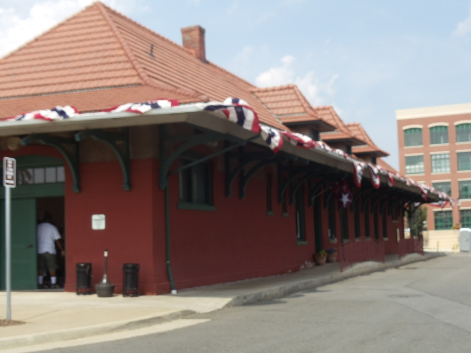 Train Depot in Historic Downtown Manassas