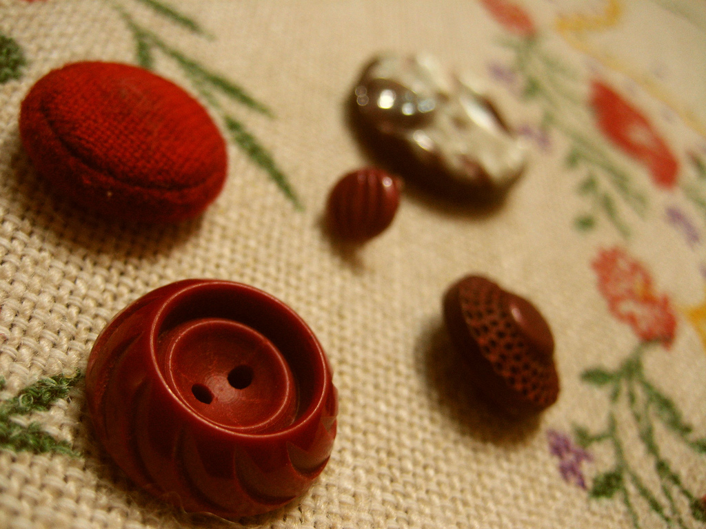 According to an old japanese legend , buttons used to signify a bond.