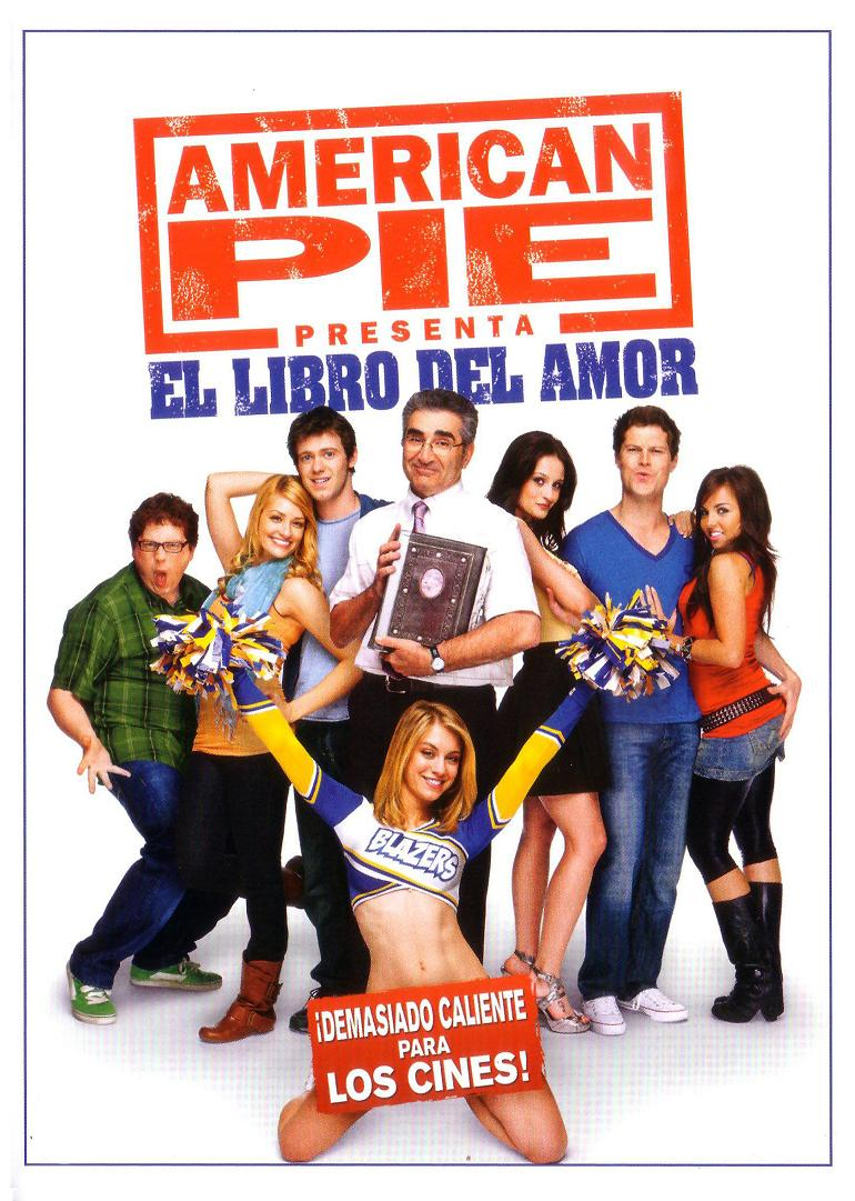 American Pie 3 Poster American pie 7: el libro del