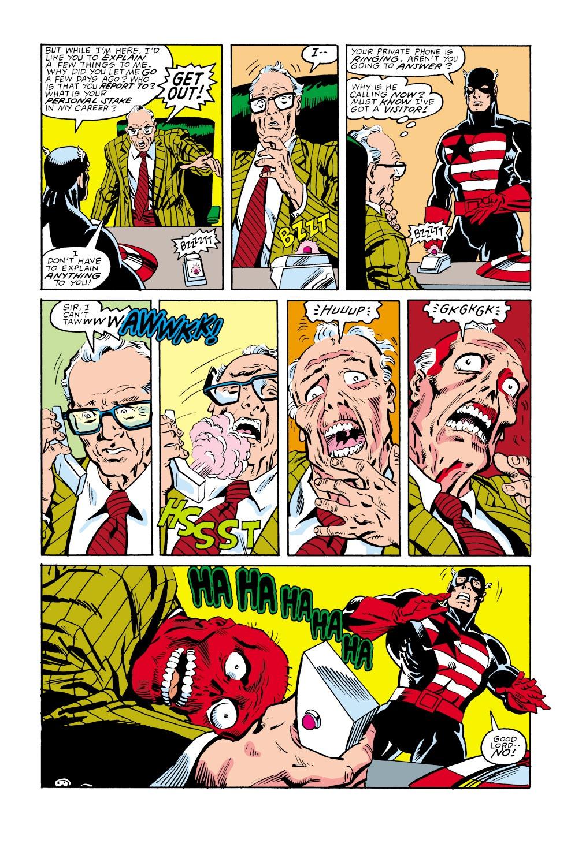 Captain America (1968) Issue #350 #282 - English 17