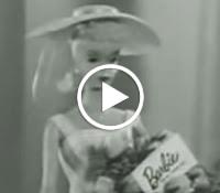 Primeira propaganda da Boneca Barbie apresentada na TV americana nos anos 50