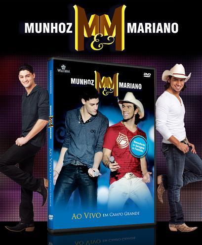 DVD e CD Munhoz e Mariano - Campo Grande