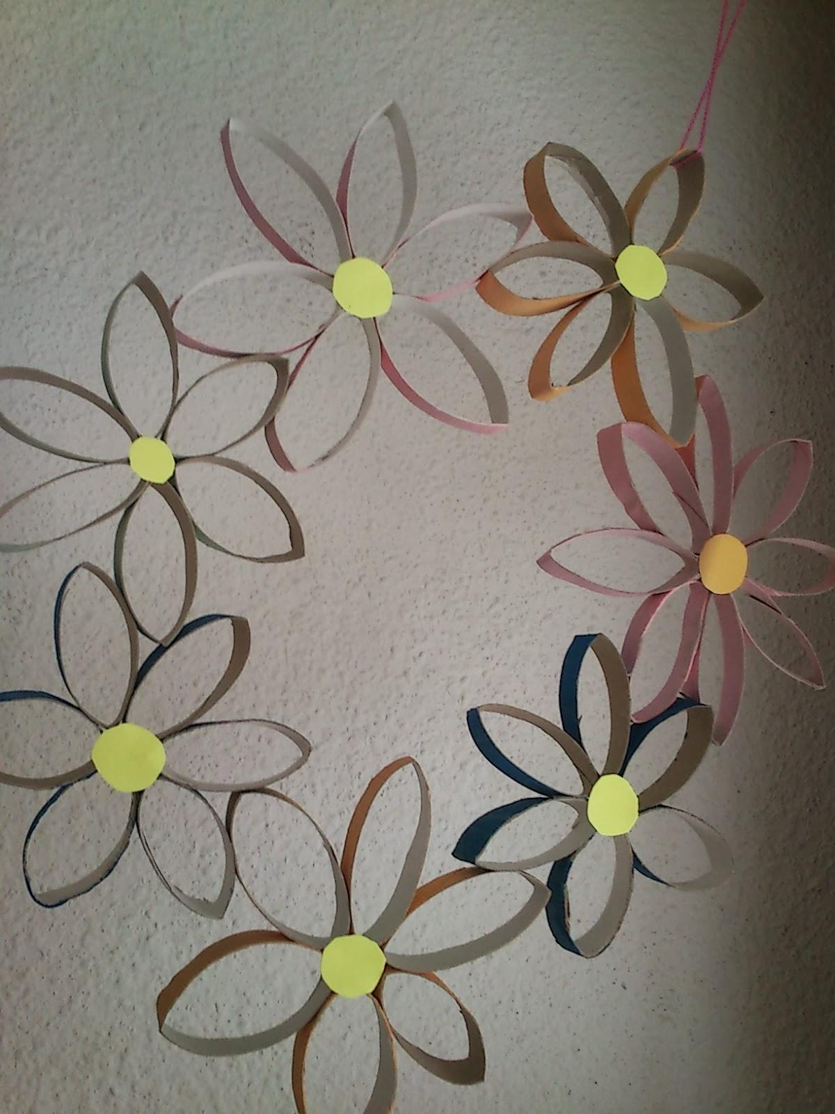 Manualidades con papel higienico imagui - Rollos de papel higienico decorados ...