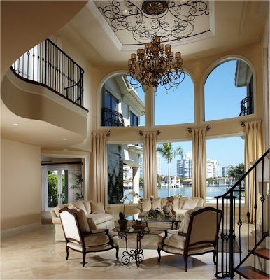 mediterranean living room pinterest