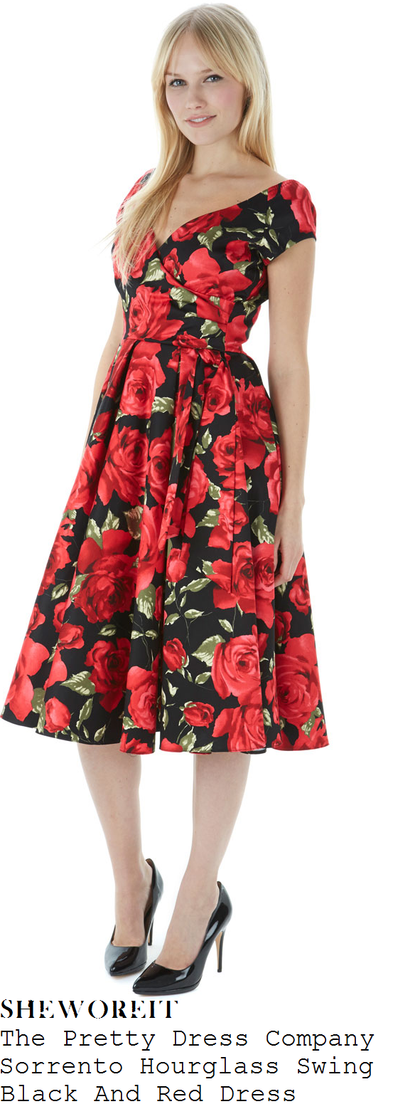 immodesty-blaize-red-and-black-rose-floral-print-dress-paul-ogrady