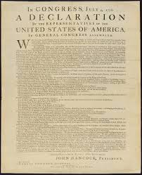 Free Printable Download Copy Of The Declaration Of Independence
