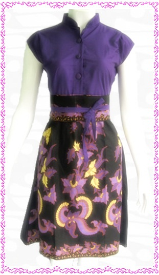 model dress batik 2013 model dress batik update terbaru model dress