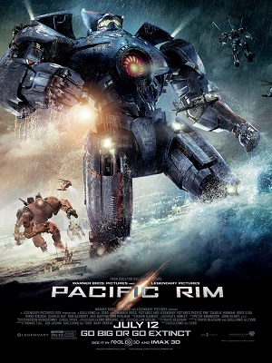 PACIFIC RIM:  Dumb fun but that's about it