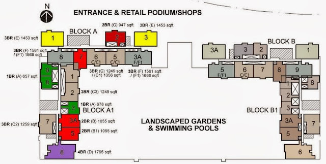 Iskandar Residences Site Map
