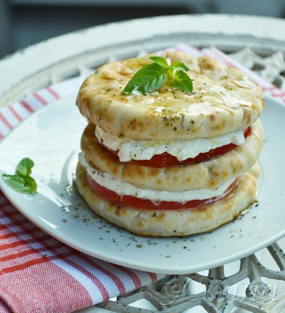Μιλφέιγ Ντομάτας / Tomato millefeuille