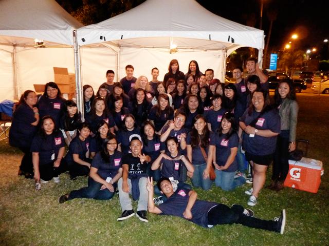 Volunteers @ ISA Festival 2011 Queen Mary