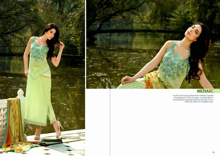 Brocade Lawn Collection by Sobia Nazir