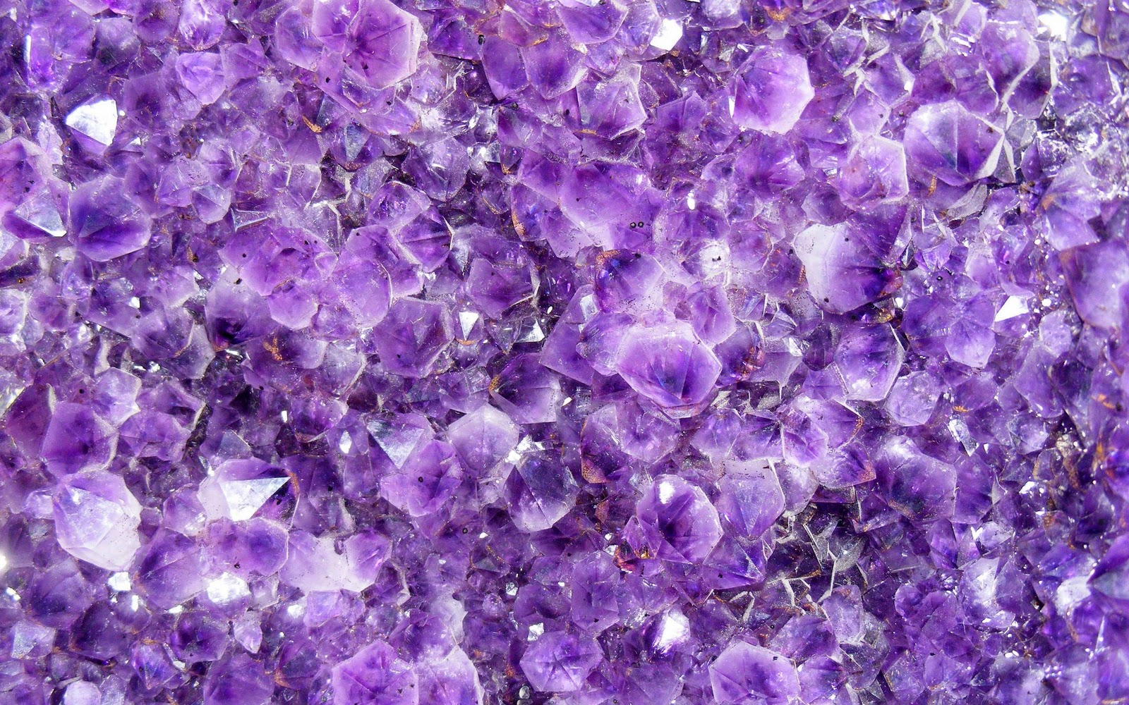 Purple Crystals | HD Wallpapers