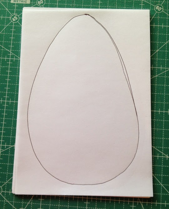 Create an egg shaped template