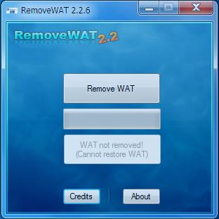 Wat Remover Windows 8 wat
