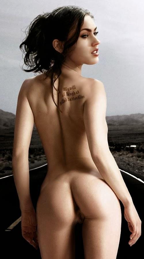 Megan fox nude ass — photo 13