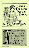 Housekeeper&#39;s Apple Book<br>(circa 1910)