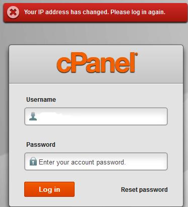 IP address has changed