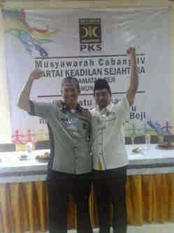 Bima Pamungkas Pimpin DPC PKS Beji