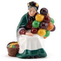 Balloon Lady Figurine1