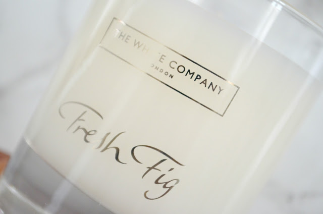 The White Company Fresh Fig Candle