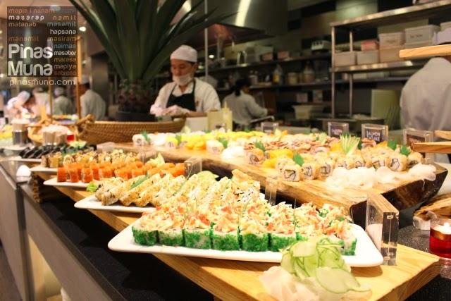 Vikings Davao Sushi Section