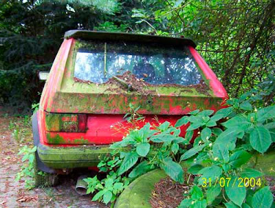Carros Abandonados #10