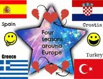 Four seasons around Europe