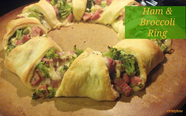 ham & broccoli ring