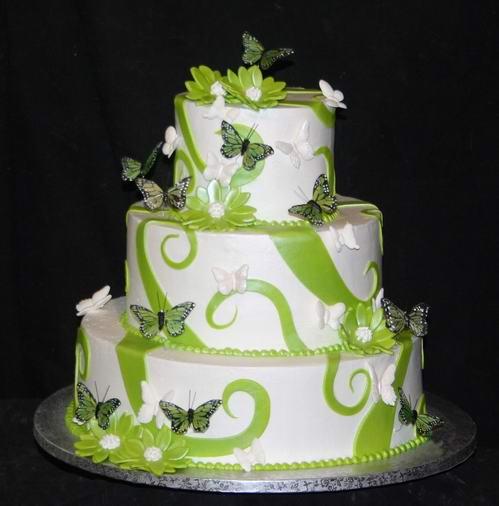 Colurful Wedding Cake Ideas
