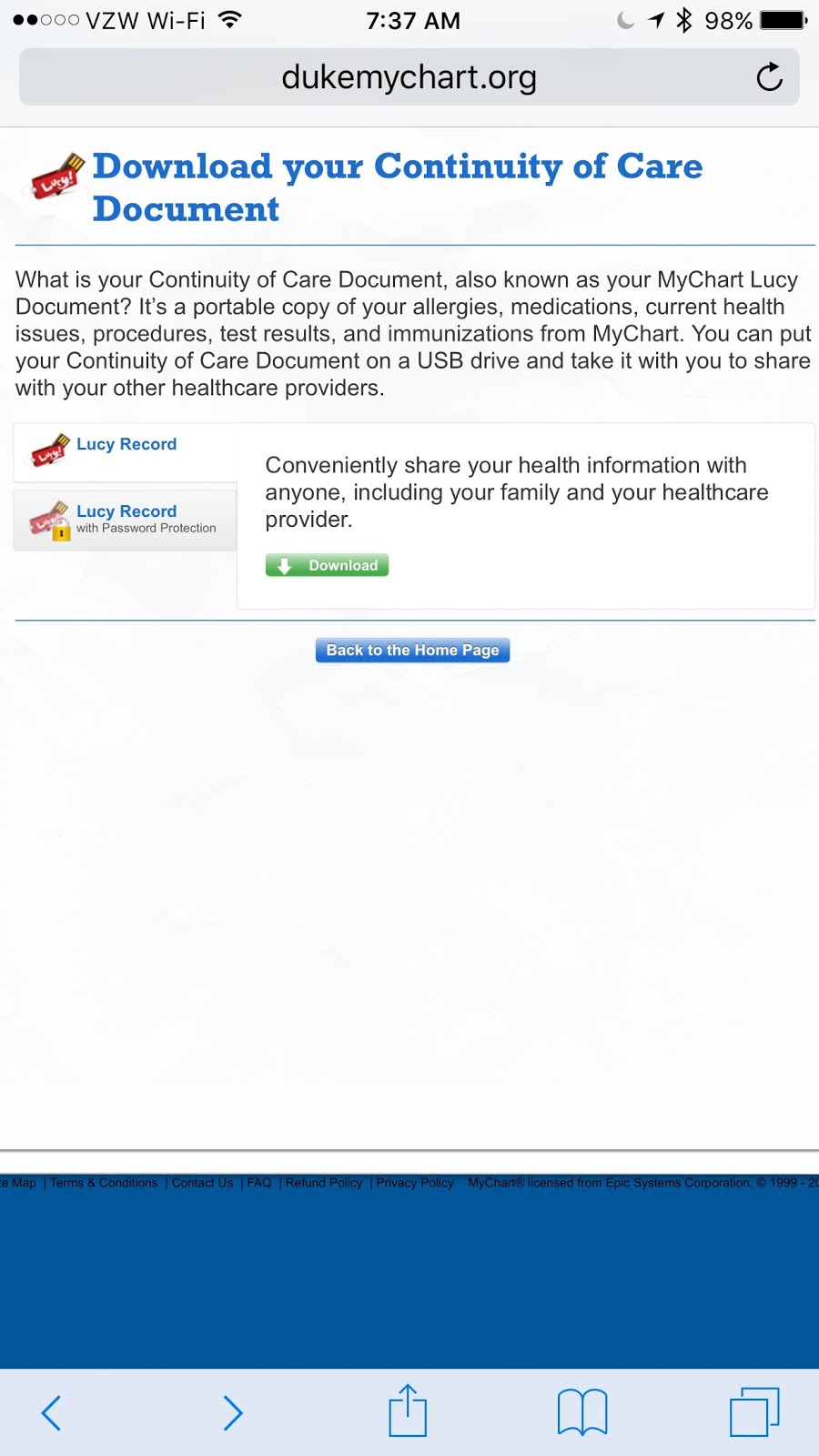 The mobile doc today c cda goes mainstream at duke health with today c cda goes mainstream at duke health with healthkit in ios 10 1betcityfo Choice Image