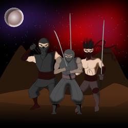 Space Ninjas, Go!