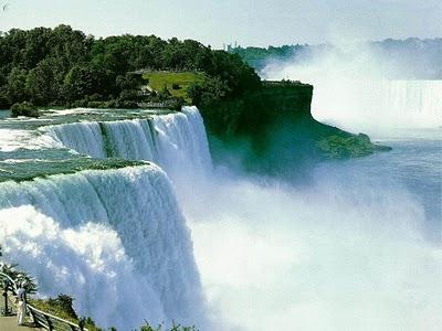Begini lah Air Terjun Niagara sekarang
