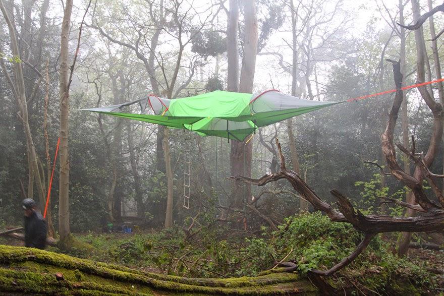 [link] [link] & SKILLER LOOK: Unusual Camping Tents