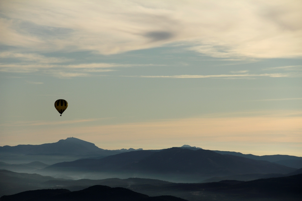 Volar en globo en invierno totglobo vuelos en globo valencia - Viaje en globo valencia ...