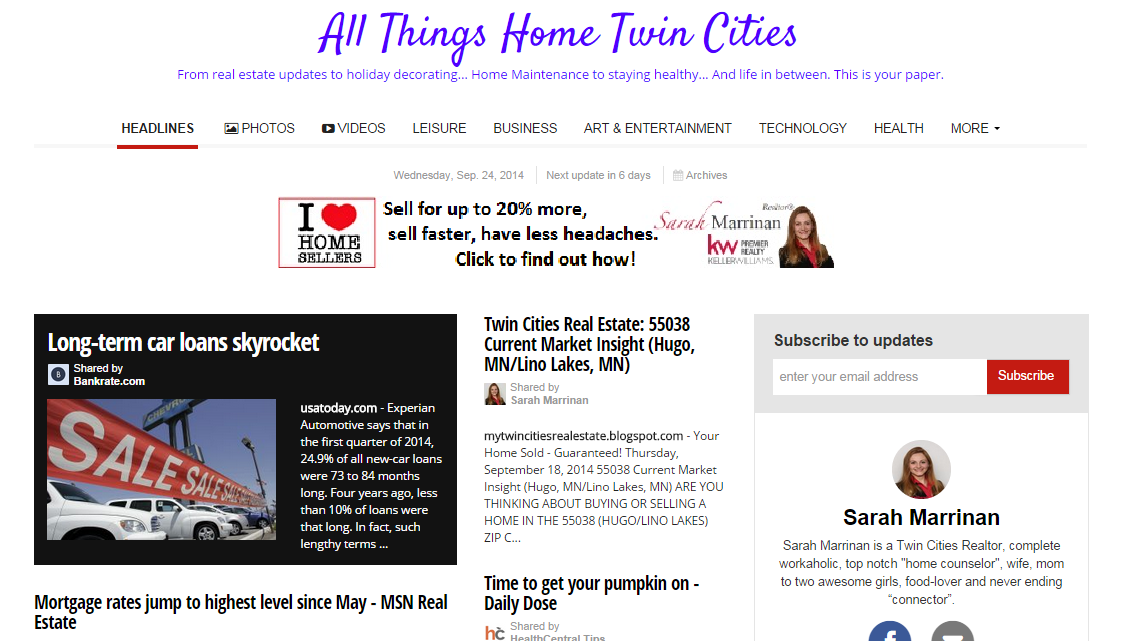 All Things Home Twin Cities- Hugo Real Estate -Lino Lakes Real Estate